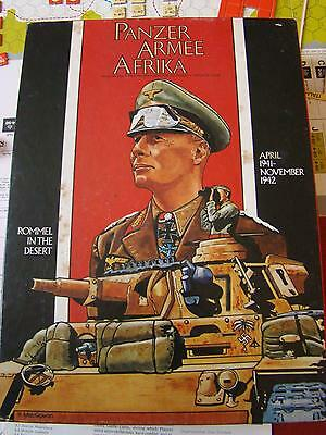 Avalon Hill 1981 Panzer Armee Afrika Board Game # 835 Complete ?