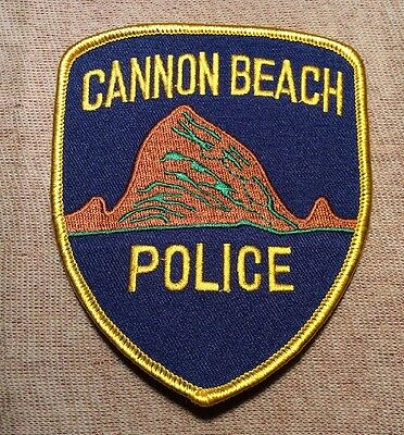 OR Cannon Beach Oregon Police Patch