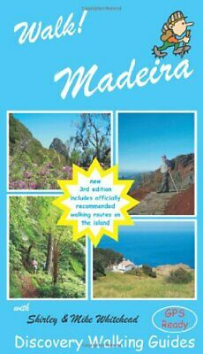 Walk! Madeira by Mike Whitehead Paperback Book The Cheap Fast Free Post