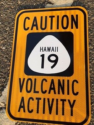 """Hawaii road sign 18""""x12"""" road Sign - UNUSED DOT specs - traffic route highway"""
