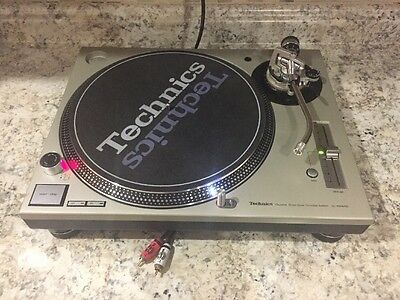 A Technics 1200 M3d Clean Dj Turntable Serato & Vinyl Tested And Serviced 1210