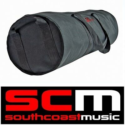 XTREME DRUM HARDWARE PADDED CARRY BAG WATERPROOF NYLON 117cm x 30cm NEW