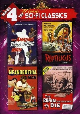 Movies 4 You: More Sci-Fi Classics [New DVD]