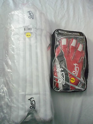 Brand New Brad Haddin 200 Wicket Keeping Pads & gloves