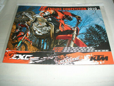 KTM Enduro Competition range brochure 2010