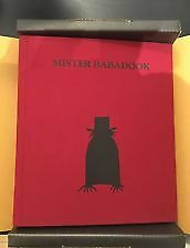 Babadook - BOOK - 1st Edition - Numbered + Signed
