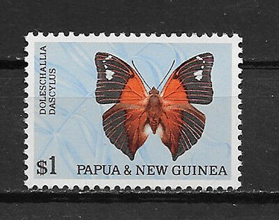 Papua & New Guinea , 1966 , Butterflies , $1 Stamp ,  Perf, Mnh