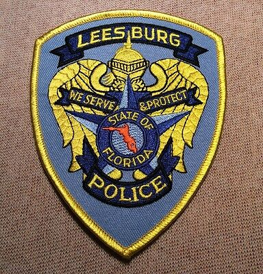 FL Leesburg Florida Police Patch