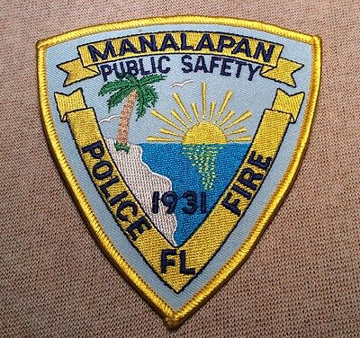 FL Manalapan Florida Police Patch