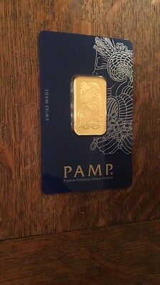 Pamp 20gram Gold Bar Pure Gold Only One Left  , Message Me