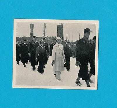 Olympics 1936 Figure Skating Sonja Henie March in Stadium Union 1936 Rare Card