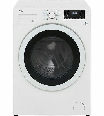 Beko WDR7543121W Free Standing 7Kg 1400 Spin Washer Dryer White