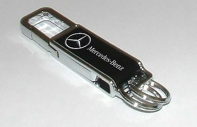 Mercedes  keyring  Top quality polished steel   for Mercedes cars