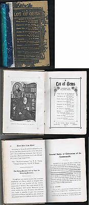 Original 1917 Cole's Book Arcade Book -A Lot of Gems - with Works by E.W. Cole