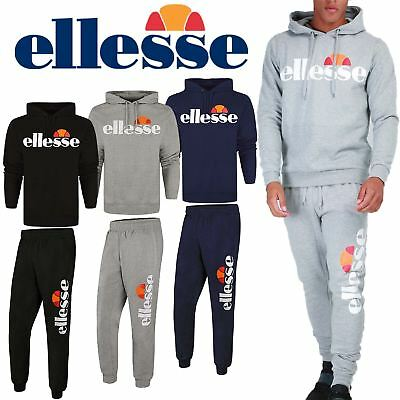 New Ellesse Mens Overhead Hooded Sweatshirt Jumper Sweater Hoodie Hoody Pullover