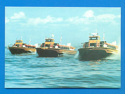 Hm218 Sidewall Hovercraft Operated By Maraven S.a.venezuela.postcard