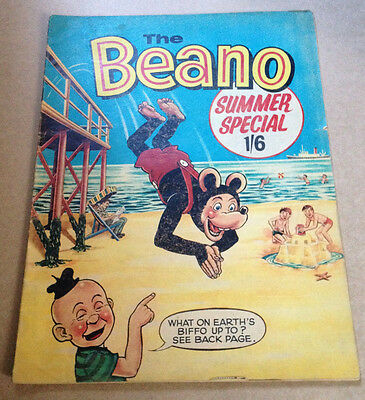 The Beano Summer Special 1967 - Scarce / Dennis The Menace Etc - Dc Thomson