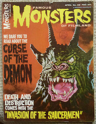 Famous Monsters Of Filmland No.38, April 1965