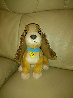 Disney Lady and The Tramp soft plush toy
