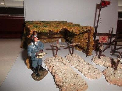 Diorama Pieces for King and Country and other 1:30 Scale figures