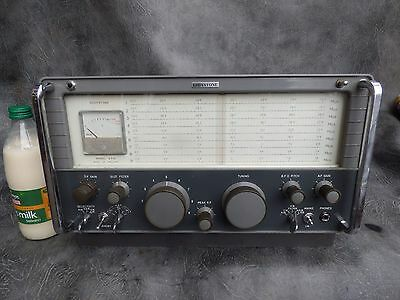 A Good Clean Eddystone Model Ea12 Amateur Radio Receiver *cleaned With New Bulbs