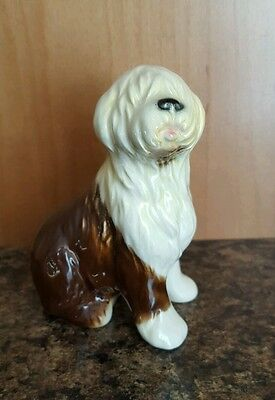 Vintage Porcelain Goebel Old English Sheepdog #3051310 W. Germany ~ Nice!