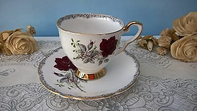 "Royal Stafford ""roses To Remember"" Bone China Cup And Saucer"