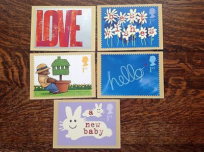 PHQ PSM08 Occasions 2002 Set Of 5 Mint