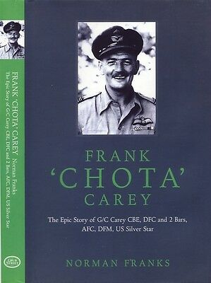 Frank Chota Carey 1st edition book signed 5 RAF Battle of Britain Fighter pilots