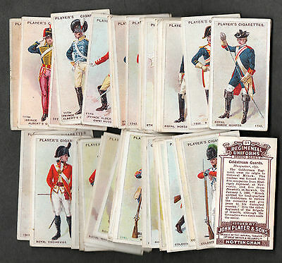 full set players regimental uniforms 2nd series brown back