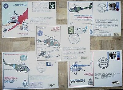 Five RAF/Army Air Corp Commemorative Covers From The 1970's (Grp 1)