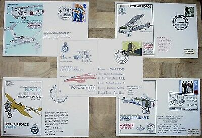 Five RAF Commemorative Covers From The 1970's (Grp 2)