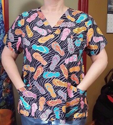 Pattern Scrub tops previously worn very good condition