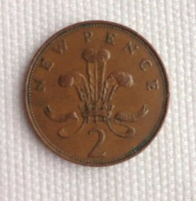 RARE 1971 TWO 'NEW PENCE' COIN _ 2p