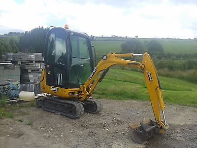 Mini Digger and High Lift Dumper for hire in and around Carmarthenshire