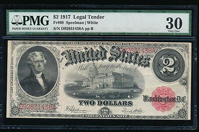 AC Fr 60 1917 $2 Legal Tender PMG 30 comment