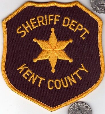 Kent County Sheriff Posse Michigan Police Department Patch State cloth shield