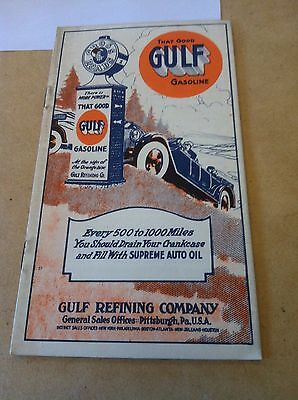 Gulf Gasoline Pamphlet from Grady's Garage in Chillicothe, Ohio