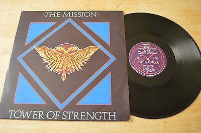 """The Mission – Tower Of Strength 12"""" Single Vinyl Record MYTHX4 1987 UK"""