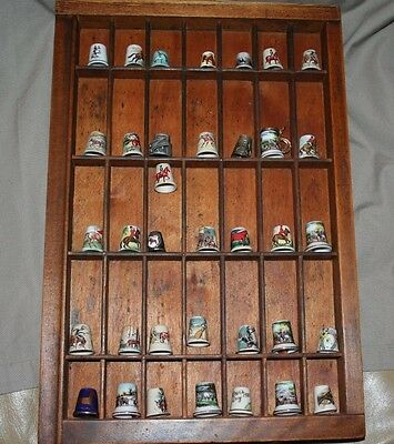 Lot of 36 Equestrian Theme Thimbles HORSE Lovers Special!
