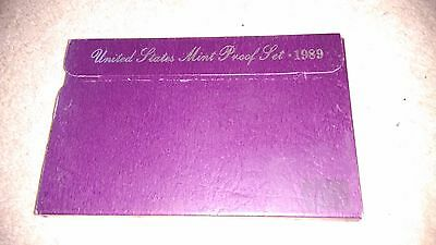 1989 United States Usa Mint Proof Coin Set
