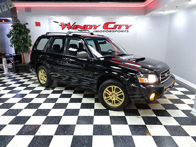 2005 Subaru Forester 4dr 2.5 XT Manual 05 Subaru Forester XT Turbo AWD Rare 5-Speed 2 Owners Dealer Maintained Blk/Blk!