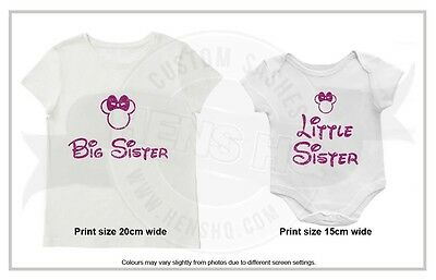 Big Sister/ Little Sister Iron on transfer - price is for one transfer.