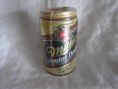 Miller Genuine Draft beer can bank new and sealed (BH)