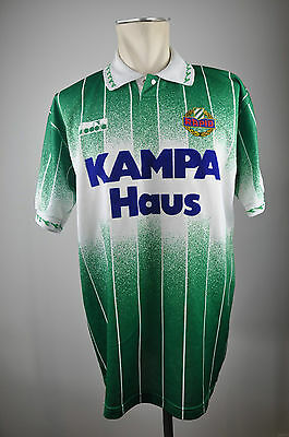 1992-93 SK RAPID WIEN Trikot Size XL Austria First League Diadora oldschool