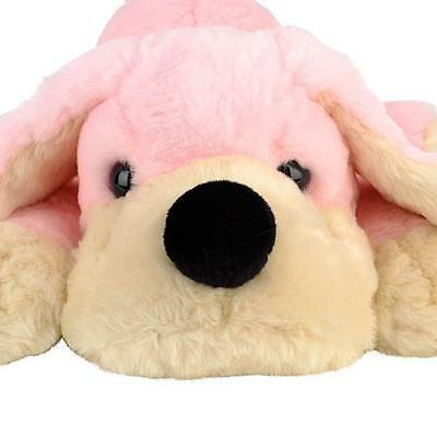 "FAO Schwarz PENELOPE the Pup Plush PINK 20"" Stuffed Animal Dog Doggie Soft"