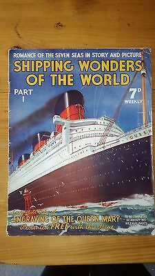 SHIPPING WONDERS OF THE WORLD MAGAZINE - Part 1, Queen Mary