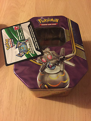 MINT Magearna Battle Hearts Tin (empty) & Online Code - Pokemon Trading Card