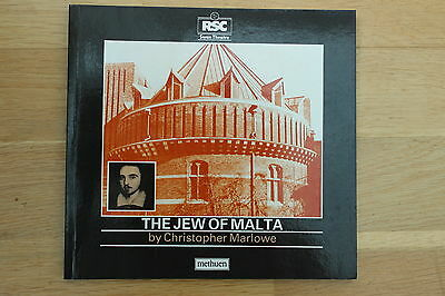 RSC Swan Programme Text THE JEW OF MALTA 1987 Alan Armstrong James Fleet Doran
