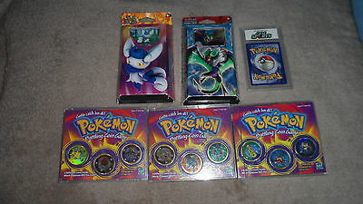 Pokemon Cards (New) and Coin Collection (Opened)